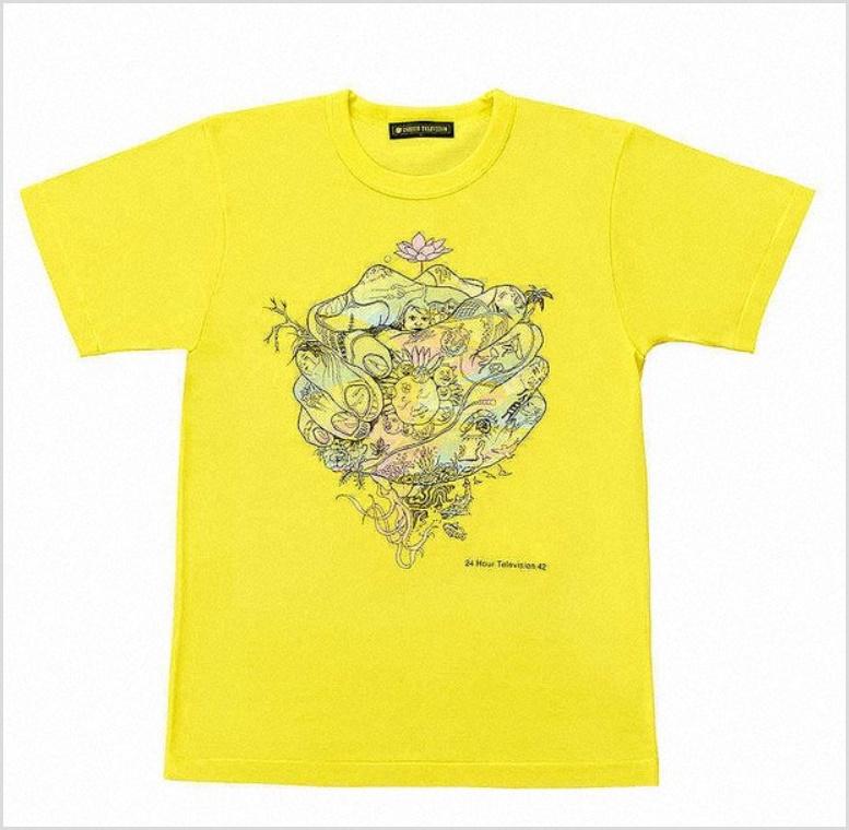 【嵐】大野智4度目の2019年24時間テレビのチャリTシャツのデザイン担当!単独では15年ぶり