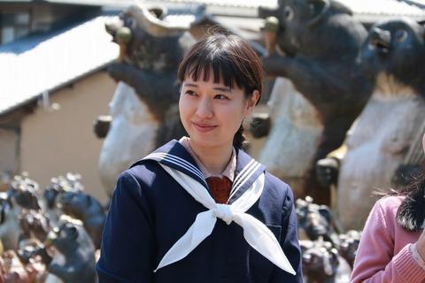 戸田恵梨香が朝ドラ主演で15歳に!太ったと言われるが体重増加は役作り?3