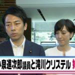 ⼩泉進次郎と滝川クリステルが結婚!できちゃった婚で妊娠何か⽉?馴れ初めと交際期間は?
